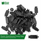 Greenhouse Bubble Wrap Insulation Clips, Plastic, Conservatory, Garden Room