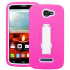 Alcatel OneTouch 7040 Fierce 2 Hybrid Armor Stand Case Skin Cover