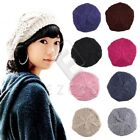 Women Ladies Winter Warm Crochet Slouch Baggy Beret Beanie Hat Hiphop Cap Cool
