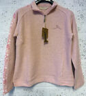 Weird Fish Macaroni Ladies Top Jumper 1/4 Zip Pink BNWT RRP £45 UK FREEPOST