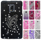 For Samsung Galaxy Note Edge Crystal Diamond BLING Hard Case Snap On Phone Cover
