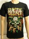 Suicide Silence New Metal Rock Black Printed T-Shirt