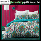 Glastonbury Quilted Quilt / Duvet Cover Set by Phase 2 - DOUBLE QUEEN KING