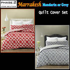 Color Choice - Marrakesh Quilted Quilt / Duvet Cover Set by Phase 2 - QUEEN KING