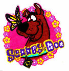 "2-4.5"" SCOOBY-DOO BUTTERFLY LOGO CHARACTER CUSTOM  HEAT TRANSFER IRON ON"
