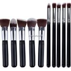 Pro Makeup Set Kits Kabuki Eyeshadow Foundation blush Brush cosmetics Tools N4U8