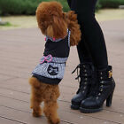 Cute Pet Dog Dress Plaid Summer Clothing Apparel Puppy Skirt Princess Clothes