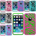 "For Apple iPhone 6 Plus 5.5"" Hard Silicone Hybrid Case Cover"