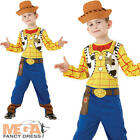 Woody Childs Fancy Dress Toy Story Boys Costume Outfit + Kids Cowboy Hat New