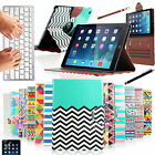 Bluetooth Keyboard 360 Rotating Stand Leather Case Cover For Apple iPad Air 5Gen