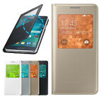 Smart Sleep/Wake Slim Leather Flip Case Cover for Samsung Galaxy Alpha Durable