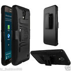 Samsung Galaxy Mega 2 / SM-G750A Quality Phone Cover Case + Holster Belt Clip