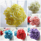 10Pcs Artificial Sponge Rose Flowers For Wedding Bouquet Home Decoration Decor