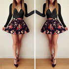 1PC Sexy Women Lady Long Sleeve Casual Casual Cocktail Short Slim Dress Gifts