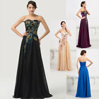 Retro Sexy Womens Cocktail Gown Dresses Bridesmaid Evening Long Plus Size 2-16