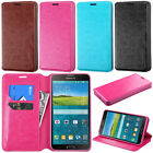 For Samsung Galaxy Mega 2 G750F Tray Folio Flip Leather Wallet Case Pouch Stand