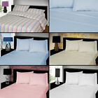 THERMAL FLANNELETTE 100% BRUSHED COTTON FITTED BED SHEET SINGLE DOUBLE KING NEW