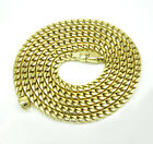 "2.3mm 22-26"" 10K Yellow Gold SOLID Franco Box Snake Mens Ladies Chain Necklace"