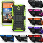 Shockproof Rugged Hybrid Armor Hard Stand Case Protector Cover Fr HTC Desire 510