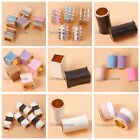 Retail Golden Alloy Enameled Cylindrical Cuboid Charms Beads Fit Jewelry Lots LC