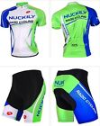 For Men Cycling bicycle outdoor Jersey+short Clothing Set Wear Bike M-XXL Green