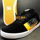 DC CHRIS COLE PRO BLACK ORANGE MENS SKATE SHOES SIZE 11 115