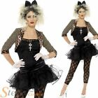 Ladies Wild Child Madonna 1980s Pop Star Fancy Dress Costume Adult Outfit