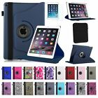 For 2014 New Apple iPad Air 2 Case Rotating Leather Stand Slim Fit Folio Cover