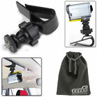 Car Sun Visor Mount for GoPro Hero 7 6 5 Black Silver/Sony Camera/iPhone Samsung