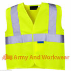 Hi Viz Kids Safety Vest  High Visability Childrens Waistcoat Jackets School Trip
