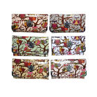 New Womens Oilcloth Owl Purse Faux Leather Wallet Colours Ladies Boxed Gift