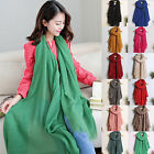 CHIC Fashion Lady Women's Long Candy colors Scarf Wraps Shawl Stole Soft Scarves