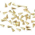 BMC Sassy 100pc Metal Alloy Tribal Triangle Nail Fashion Art Accessory Studs