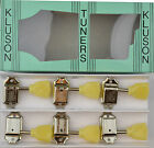 Genuine Kluson MC33N Vintage Tulip Tuners Machine Heads  3x3 Nickel