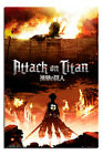 Attack On Titan Manga Art Large Wall Poster New - Maxi Size 36 x 24 Inch