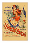 L'Etendard Francais - Vintage French Bicycle Advertisement/Poster