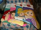 NWT Disney Princess Christmas Stocking Ariel Belle Cinderella Rapunzel You Chose