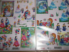 2 x A4 NDC Decoupage Sheets Prince & Princess Children's Various Designs