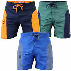 Mens Swimming Shorts South Shore Trunks Beach Summer Mesh Lined Drawcord Casual