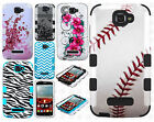 Alcatel OneTouch Pop Icon IMPACT TUFF HYBRID Protector Case Skin Phone Cover