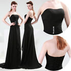 2015 Long Bridesmaid Prom Dresses Party Ball Gown Formal Evening Dress PLUS SIZE