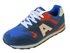Air Tech mens lace up Sport / casual trainer Blue/white/red synthetic CAMPUS -ES