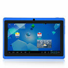 HD 7inch Dual Core Google Android4.2 Tablet PC 4GB 1.2GHz Dual Camera WiFi Blue