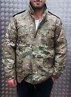 US Military Style M65 Lined Combat Jacket Multi Cam MOD/Scooter - All Sizes NEW