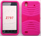 Quality Phone Case with BUILT IN SCREEN PROTECTOR For ZTE Quartz Z797c