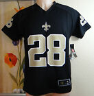 NWT NFL MARK INGRAM 28 New Orleans Saints black/beige/white Jersey,Youth S,M,L,X