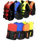 Adult Polyester Foam Life Jacket Vest PFD 4Colors Fully Enclosed M L XL XXL XXXL