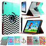 Folio Mangetic PU Leather Smart Cover Stand Case for Apple iPad Air 5 Wake/Sleep