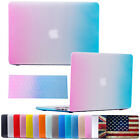 """Hard Rubberized Case Cover Shell + Keyboard Skin for Macbook Air 11"""" 13"""" Laptop"""