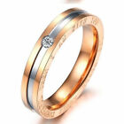 Stainless Steel Comfort Fit Wedding Bands Promise Ring Size 5-14   US Seller